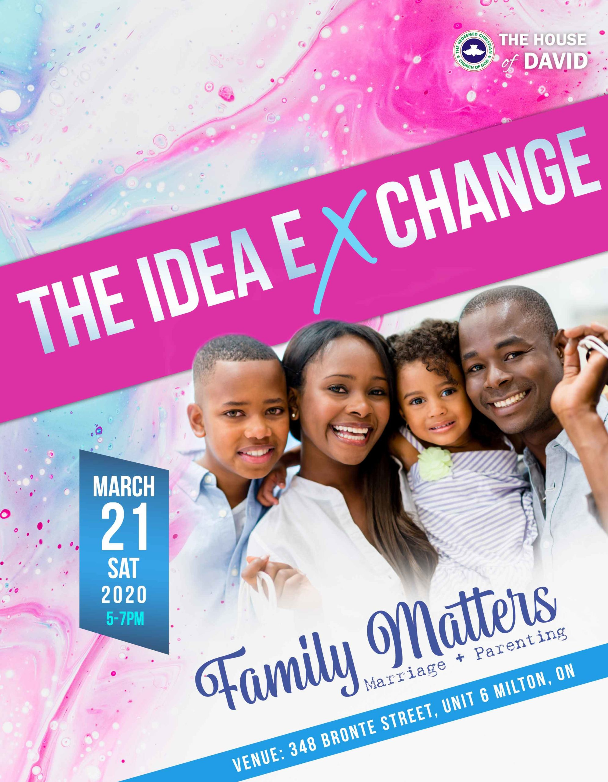 The Idea eXchange – Family Matters: Marriage + Parenting
